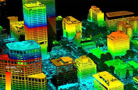 3D City LiDAR